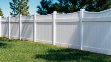Lakeland Concave Privacy Vinyl Fence