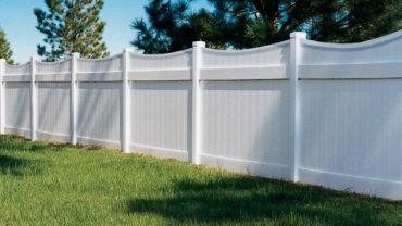 Lakeland Concave Privacy Vinyl Fence