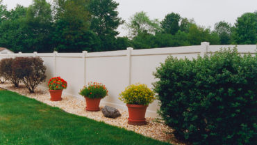 Lakeland Vinyl Privacy Fence