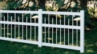 Clarendon Vinyl Fence