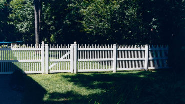 Clayton Vinyl Fence and Gate