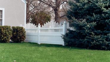 Dawson Vinyl Fence