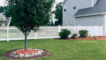 Hampton Vinyl Fence
