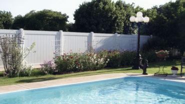 Lakeland Vinyl Privacy Fence