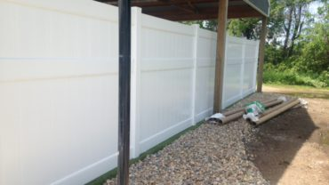 Lakeland 8' tall Vinyl Fence