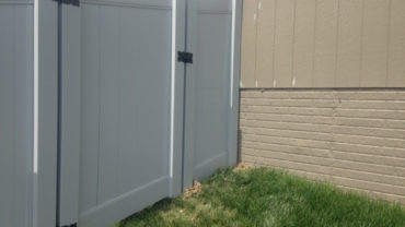 Lakeland Gray 6' Vinyl Privacy Fence