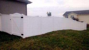 Lakeview 6' with Hampton Scallop Up Gate