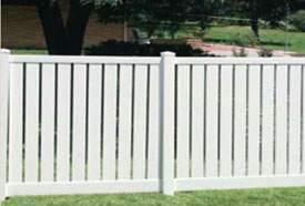 Lakeview Vinyl Fence