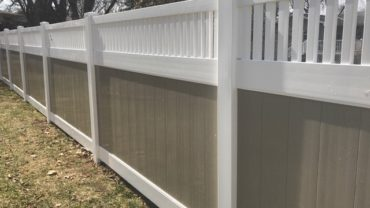 Montauk 6' White with Adobe Verticals