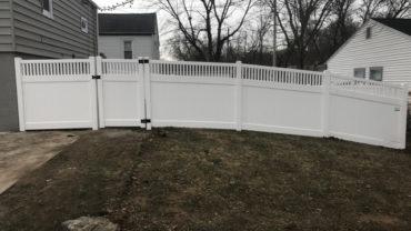 Montauk Vinyl Fence