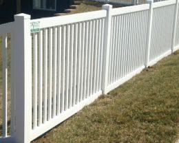 Pacific 4' Vinyl Fence