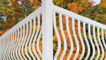 Tear Drop Baluster Railing