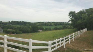 3 Rail White Gate