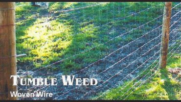 Tumble Weed Farm Fence