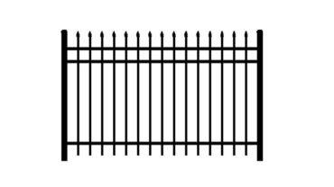 0131 Aluminum Fence