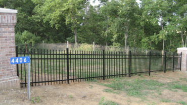 0131 Spear Aluminum Fence