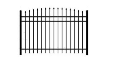0131 Convex Aluminum Fence