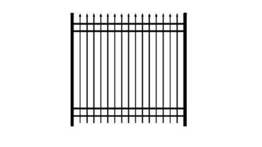 0141 Aluminum Fence
