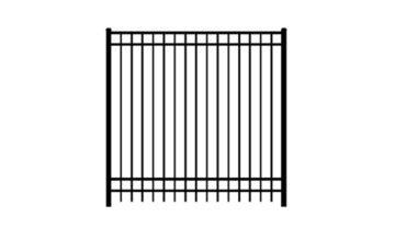 0240 Aluminum Fence