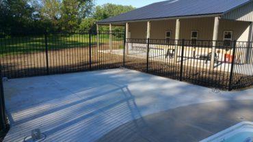 0243 6' tall Aluminum Fencing