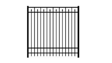 0243 Aluminum Fence