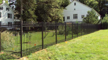1131R Aluminum Fence with Rings