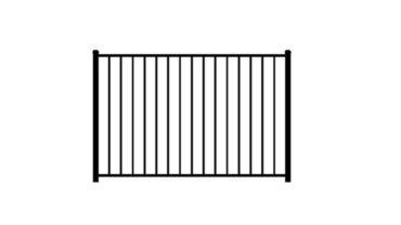 2220 Aluminum Fence