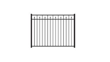 2233 Aluminum Fence