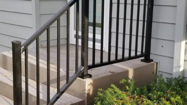C10 Railing Black Textured