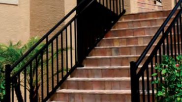 C30 Black Satin Railing