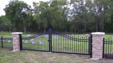 Aluminum Entry Gate