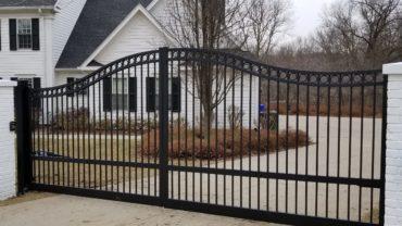 Custom Aluminum Gate