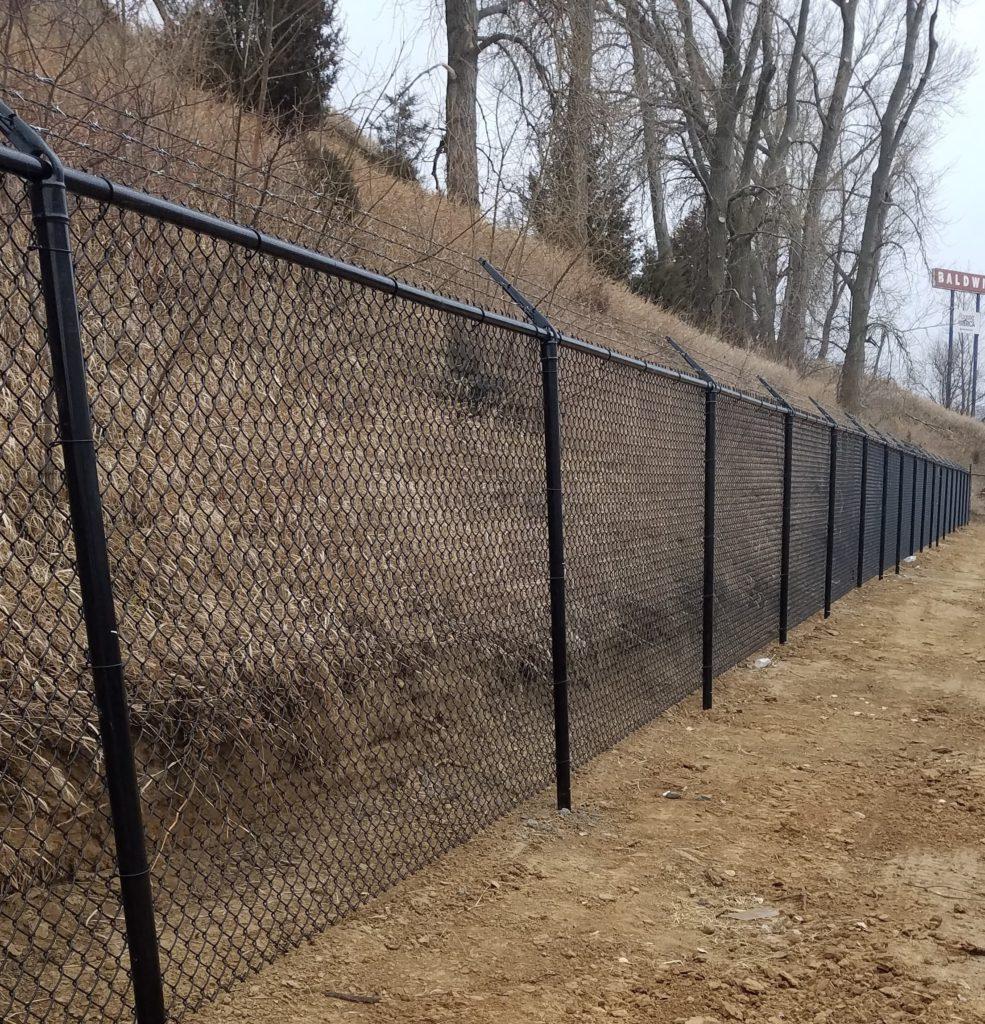 Commercial Chain Link Acreage Fences