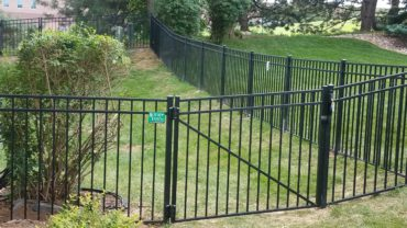 Standard Aluminum Gate with Bracing