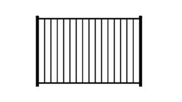 2220 Aluminum Fence 2