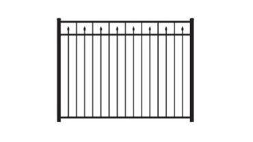 2233 Aluminum Fence 2