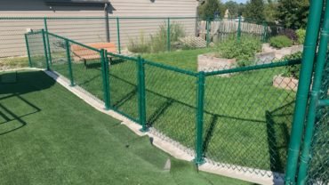 Green Commercial Chain Link